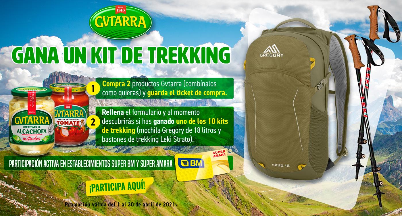 Gana un kit de trekking