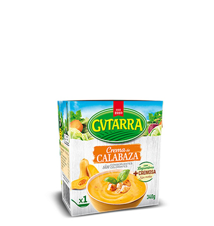 Crema Calabaza