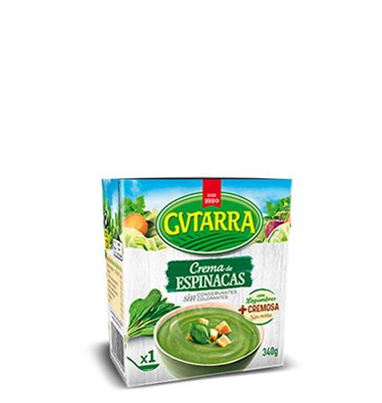 Crema Espinacas