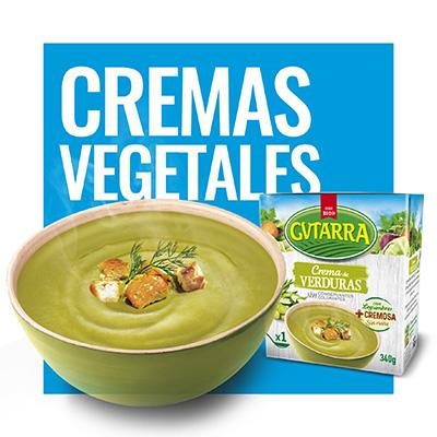 Cremas Vegetales